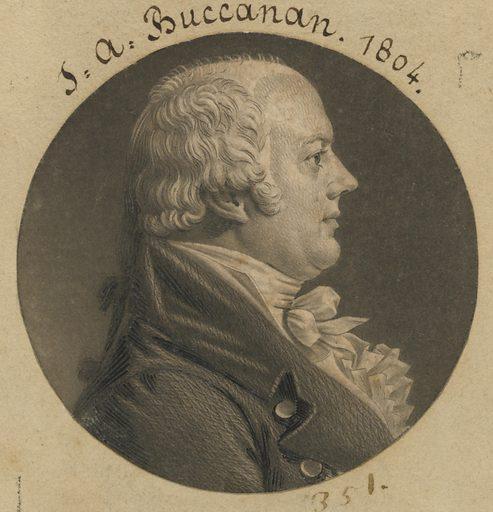 James A. Buchanan. Sitter: James A. Buchanan, 1768 – 1840. Date: 1800s. Record ID: npg_S_NPG.74.39.8.22.