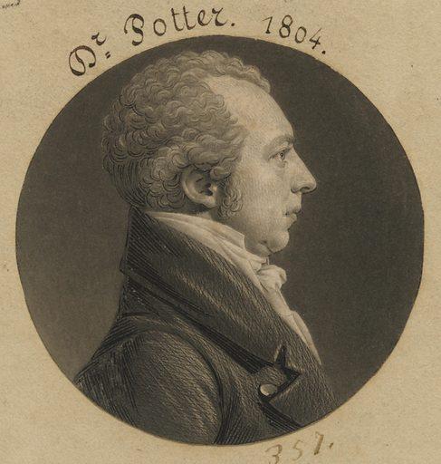 Nathaniel Potter. Sitter: Nathaniel Potter, 1770 – 1843. Date: 1800s. Record ID: npg_S_NPG.74.39.8.28.