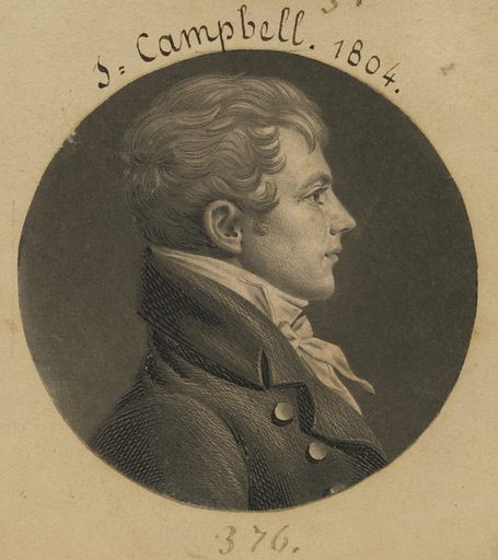 Levin Hicks Campbell. Sitter: Levin Hicks Campbell, 1774 – 1819. Date: 1800s. Record ID: npg_S_NPG.74.39.8.47.