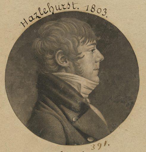 Hazlehurst. Sitter: Hazlehurst. Date: 1800s. Record ID: npg_S_NPG.74.39.9.14.