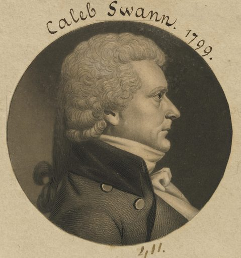 Caleb Swan. Sitter: Caleb Swan, 02 Jul 1758 – 29 Nov 1809. Date: 1790s. Record ID: npg_S_NPG.74.39.9.34.