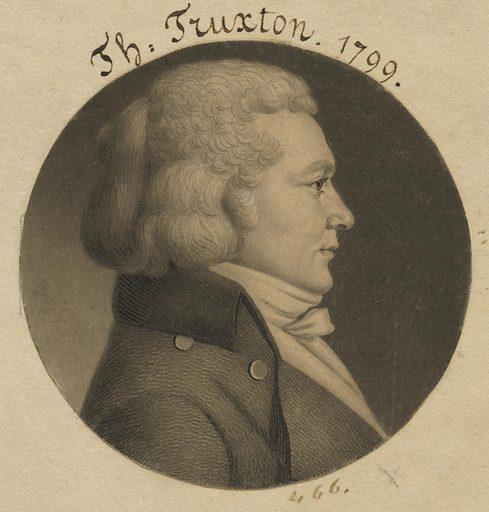 Thomas Truxton. Sitter: Thomas Truxton, 17 Feb 1755 – 5 May 1822. Date: 1790s. Record ID: npg_NPG.74.39.10.41.