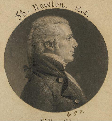 Thomas Newton, Jr. Sitter: Thomas Newton, Jr., 21 Nov 1768 – 5 Aug 1847. Date: 1800s. Record ID: npg_S_NPG.74.39.11.24.