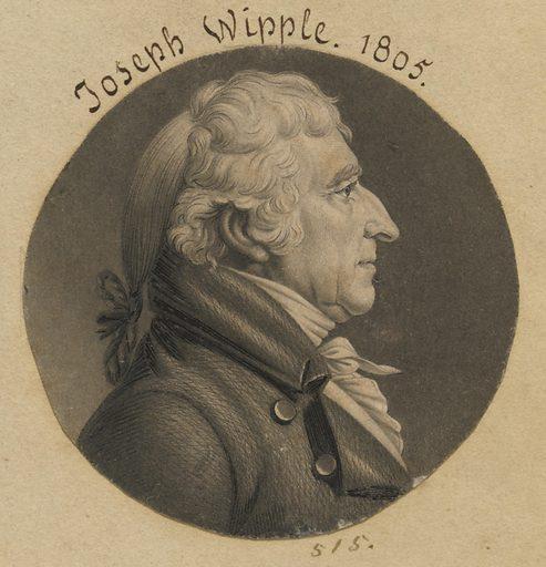 Joseph Whipple. Sitter: Joseph Whipple, 1738 – 1816. Date: 1800s. Record ID: npg_S_NPG.74.39.11.42.