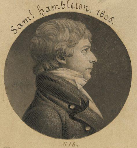 Samuel Hambleton. Sitter: Samuel Hambleton, 1777 – 1851. Date: 1800s. Record ID: npg_S_NPG.74.39.11.43.