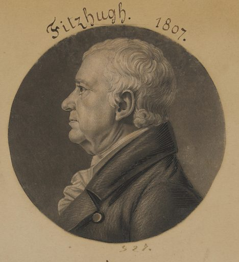 William Fitzhugh. Sitter: William Fitzhugh, 24 Aug 1741 – 6 Jun 1809. Date: 1800s. Record ID: npg_S_NPG.74.39.12.6.