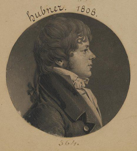 John C. Hubner. Sitter: John C. Hubner, ? – 1813. Date: 1800s. Record ID: npg_S_NPG.74.39.12.43.