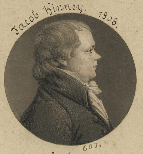 Jacob Kinney. Sitter: Jacob Kinney, 1765 – 1812. Date: 1800s. Record ID: npg_S_NPG.74.39.13.34.