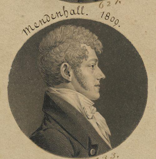 Thomas Mendenhall, Jr. Sitter: Thomas Mendenhall, Jr., 1781 – 1817. Date: 1800s. Record ID: npg_S_NPG.74.39.14.16.