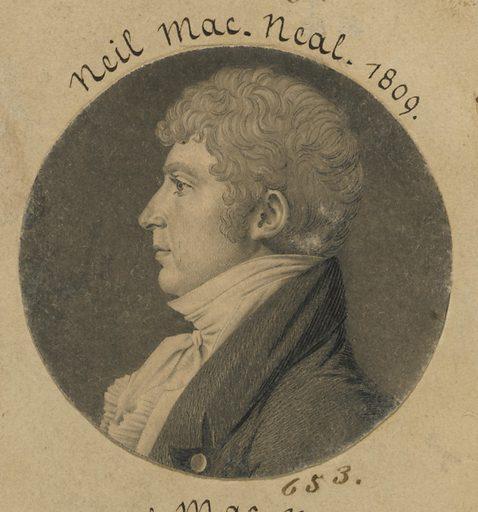 Neil MacNeal. Sitter: Neil MacNeal, ? – c. 1850. Date: 1800s. Record ID: npg_S_NPG.74.39.14.36.