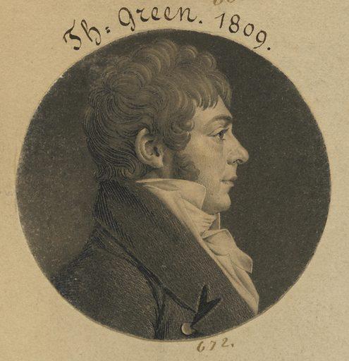 Thomas Green. Sitter: Thomas Green, born late 18th Century. Date: 1800s. Record ID: npg_S_NPG.74.39.15.7.