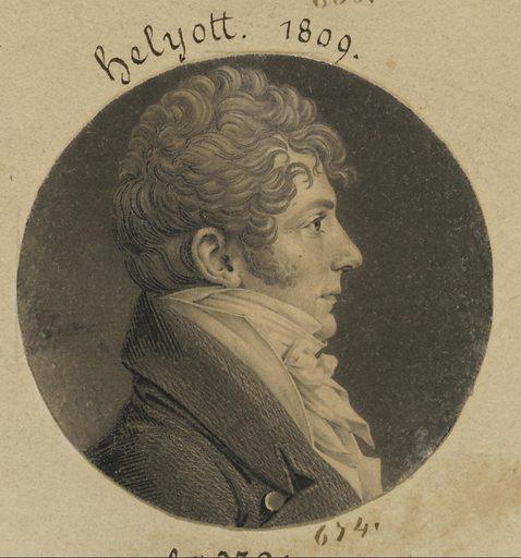 Benjamin Elliott. Sitter: Benjamin Elliott, born late 18th Century. Date: 1800s. Record ID: npg_S_NPG.74.39.15.9.