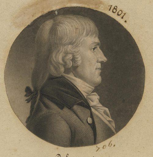 Benjamin Ives Gilman. Sitter: Benjamin Ives Gilman, 1766 – 1833. Date: 1800s. Record ID: npg_S_NPG.74.39.15.41.