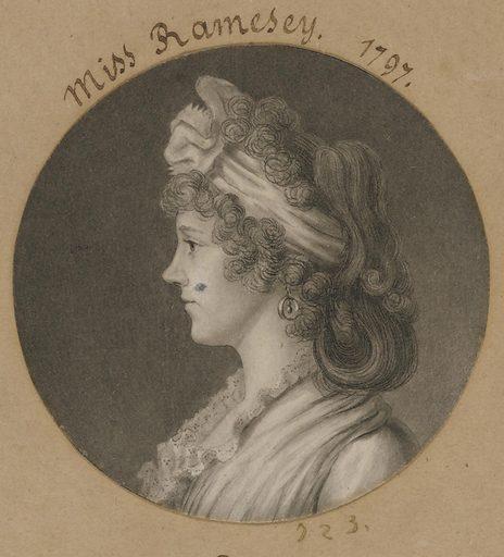 Eleanor Ramsay Fitzwilliam. Sitter: Eleanor Ramsay Fitzwilliam, c. 1774 – 1844. Date: 1790s. Record ID: npg_S_NPG.74.39.16.10.