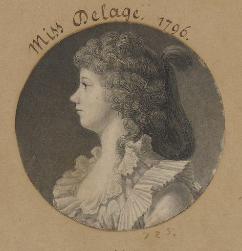 Nathalie Marie Louise Stephanie Beatrix Delage de Volude. Sitter: Nathalie Marie Louise Stephanie Beatrix Delage de Volude, 28 Oct 28 1782 – 10 Aug 1841. Date: 1790s. Record ID: npg_S_NPG.74.39.16.12.