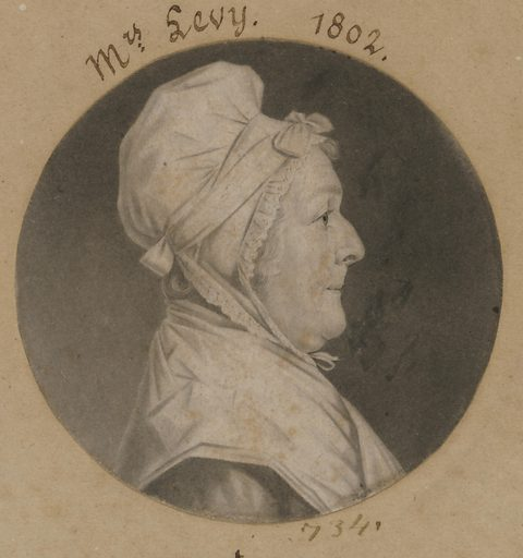 Martha Lampley Levy. Sitter: Martha Lampley Levy, 1731 – 1807. Date: 1800s. Record ID: npg_S_NPG.74.39.16.21.