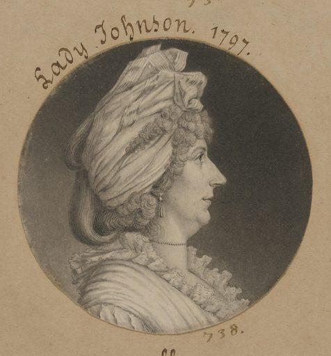 Mary Watts Johnson. Sitter: Mary Watts Johnson, 1753 – 1815. Date: 1790s. Record ID: npg_S_NPG.74.39.16.25.
