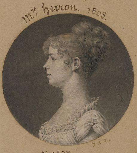 Ann Plume Herron. Sitter: Ann Plume Herron, 1780 – 1833. Date: 1800s. Record ID: npg_S_NPG.74.39.16.39.