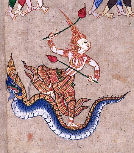 Thai manuscript 7, Divination