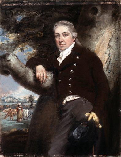 Edward Jenner. Pastel by John Raphael Smith. Edward Jenner pionneered vaccination against smallpox using the cowpox vaccine. Contributors: John Raphael Smith. Work ID: nuubruhq.