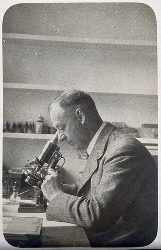 Charles Morley Wenyon. Photograph. Work ID: epzyv6zq.