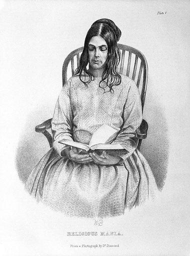 "Medical Times Gazette, ""Religious Mania"". VOL. (38). (1858). Work ID: n44wt35z."