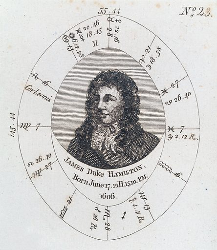 Astrological birth chart for, Duke of Hamilton. Astrological birth chart for Prince James, Duke of Hamilton. Work ID: sm5b9f7d.