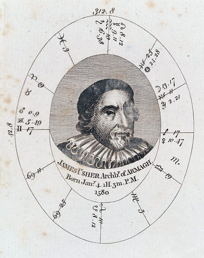 Astrological birth chart for Archbishop of Armagh. Astrological birth chart for James Ussher, Archbishop of Armagh. Work ID: evpay4jq.