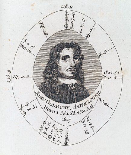 Astrological birth chart for John Godbury, Astrologer. Work ID: rmy9xmak.