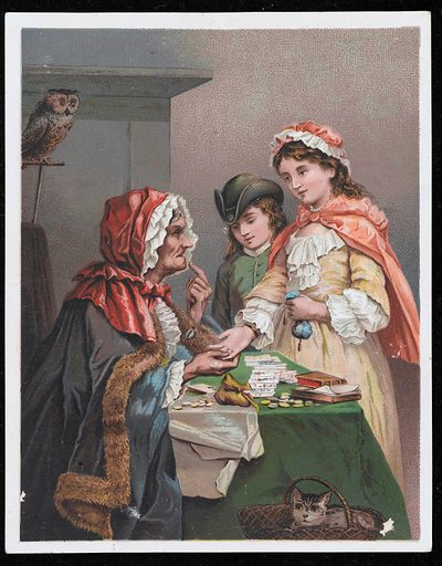 The Gypsy Fortune Teller