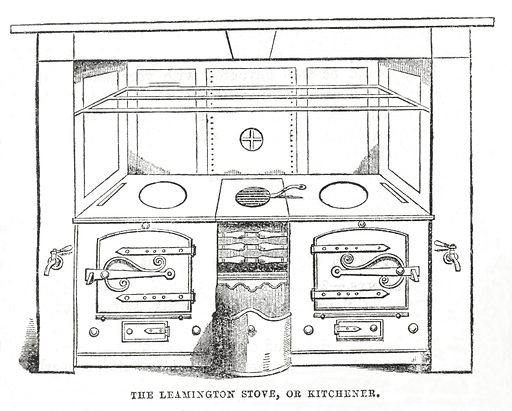 The book of household management by Mrs Beeton. The book of household management. The Leamington Stove, or Kitchener. Domestic. Cookery. Work ID: fw4rfvhm.