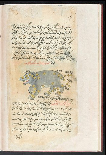 Persian Miniature Paintings. Zodiac. Work ID: h9b3j9mu.