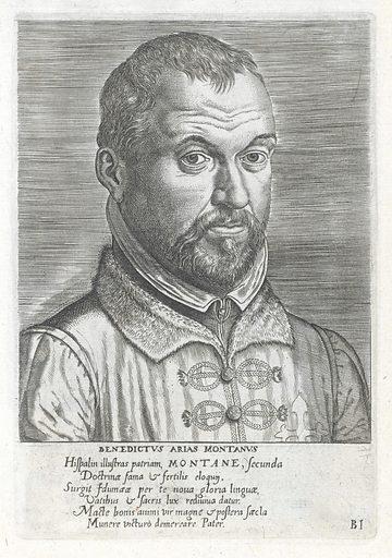 Portrait of Benedict Arias Montano, linguist and Hebraist. Work ID: b2g2dewj.