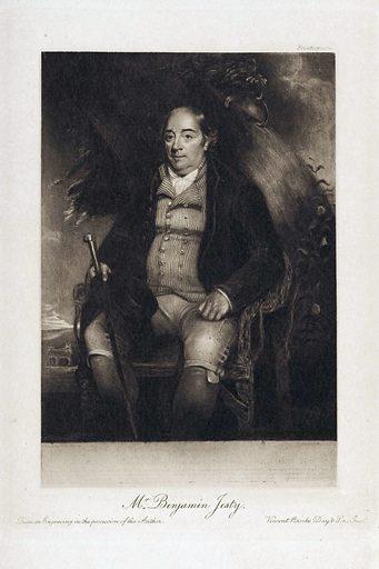 Portrait of Benjamin Jesty. Work ID: rarmqjgm.
