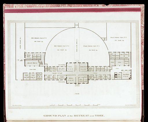 Description of the Retreat. Ground plan of the Retreat near York. Work ID: pau2fzaq.