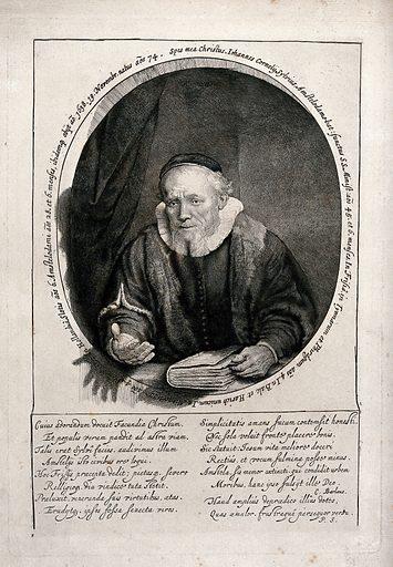 Jan Cornelisz. Sylvius. Heliogravure by C Amand-Durand after Rembrandt van Rijn, 1646. Contributors: Rembrandt Harmenszoon van Rijn (1606–1669); Amand-Durand, Charles (1831–1905). Work ID: j2whb46r.