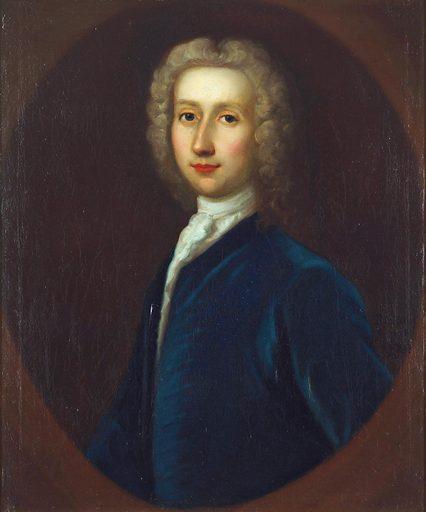 Robert Whytt. Oil painting by GB Bellucci, 1738. Contributors: Giovanni Battista Bellucci. Work ID: uwcqayud.