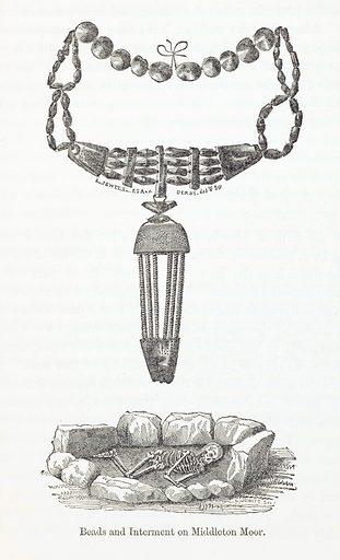 Beads and Interment on Middleton Moor. Work ID: p2rqjtgu.
