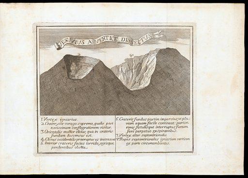 Crater of the volcano Vesuvius. Work ID: avduth2w.