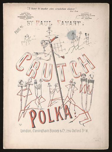 Medical songsheet: 'Crutch Polka'. Work ID: vdrsd4hb.