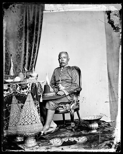 Brother of the 1st king, Siam, [Thailand]. Contributors: J Thomson. Work ID: z2kbucy7.