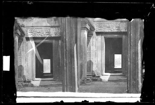 Nakhon Thom [Angkor Wat], Cambodia. Photograph by John Thomson, 1866. Contributors: J Thomson. Work ID: ws75ce5b.