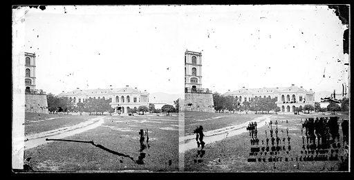 City Hall, Hong Kong. Photograph by John Thomson, 1868/1871. Contributors: J Thomson. Work ID: kfg8mn4j.