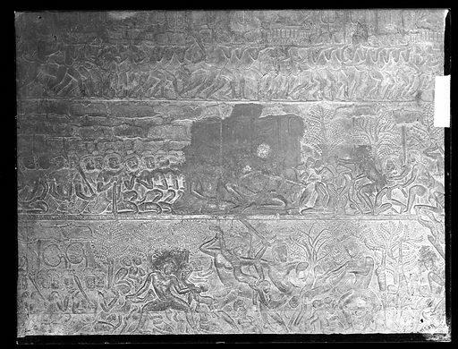 Nakhon Thom [Angkor Wat], Cambodia. Photograph by John Thomson, 1866. Contributors: J Thomson. Work ID: su8tphk8.
