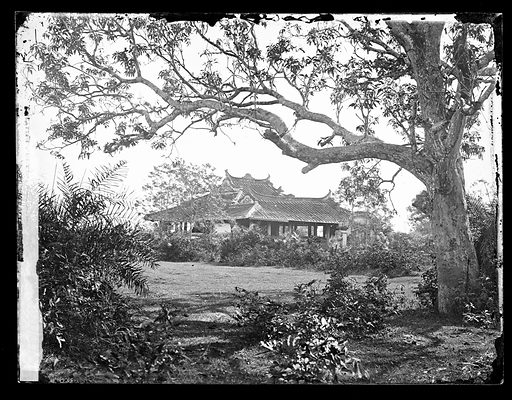 Saigon, Cochin China [Vietnam]. Photograph by John Thomson, 1867. Contributors: J Thomson. Work ID: y7uyyr27.