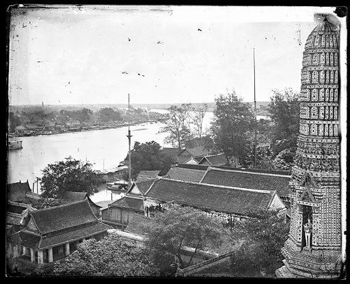 Bangkok, Siam [Thailand]. Photograph by John Thomson, 1865. Contributors: J Thomson. Work ID: g3aqy3x8.