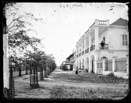 Saigon, Cochin China [Vietnam]. Photograph by John Thomson, 1866. Contributors: J Thomson. Work ID: yk8jz2nz.