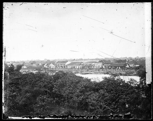 Saigon, Cochin China [Vietnam]. Photograph by John Thomson, 1867. Contributors: J Thomson. Work ID: um9e7x7u.