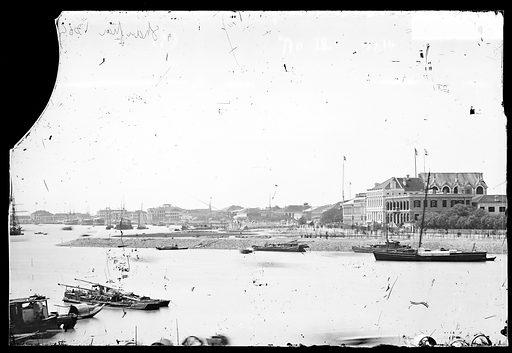 Shanghai, Kiangsu province, China. Photograph by John Thomson, 1871. Contributors: J Thomson. Work ID: ycdprqcd.