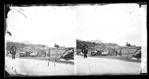Labourers with basket and panniers, Amoy, by John Thomson. Amoy, Fukien province, China. Photograph by John Thomson, 1870/1871. Contributors: J Thomson. Work ID: kvbewtmw.